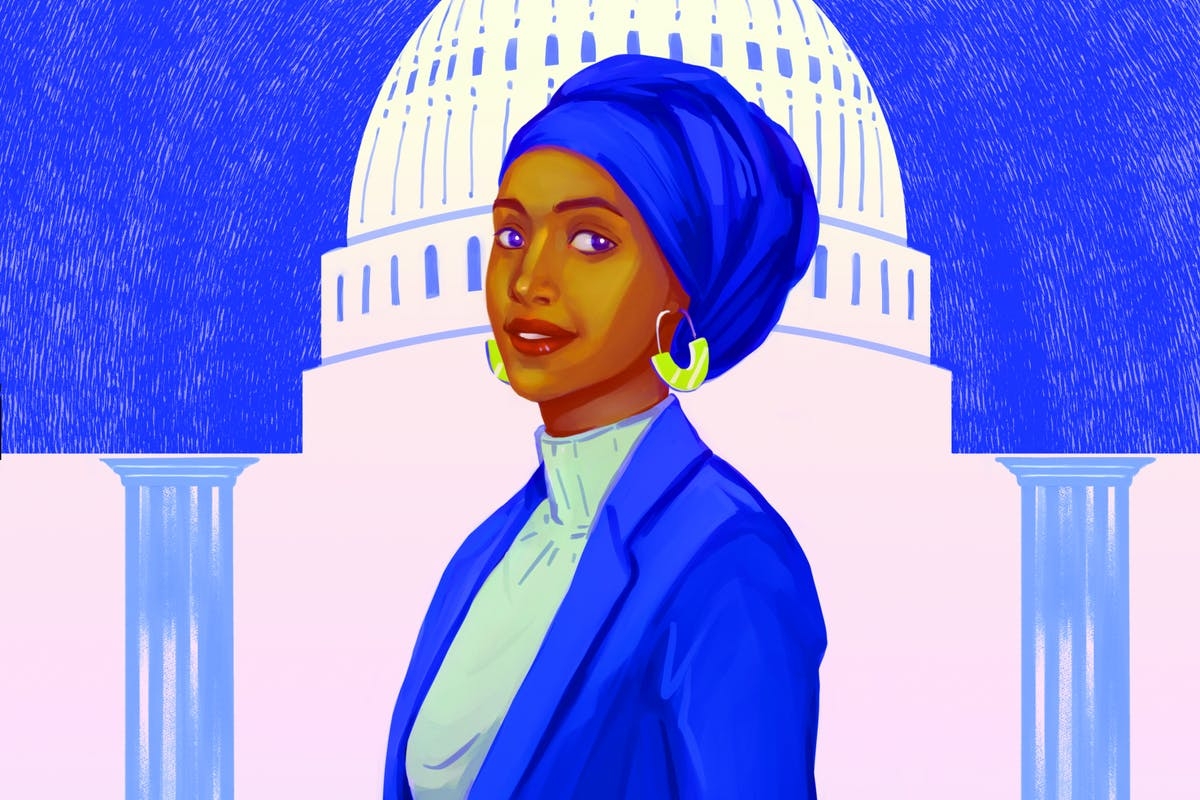 Ilhan Omar in Muslim Women Are Everything