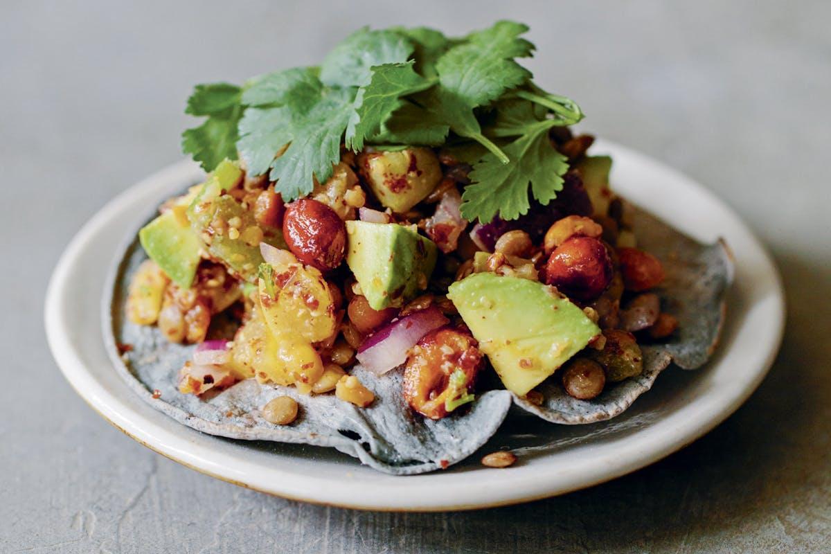 mexican lentil salad