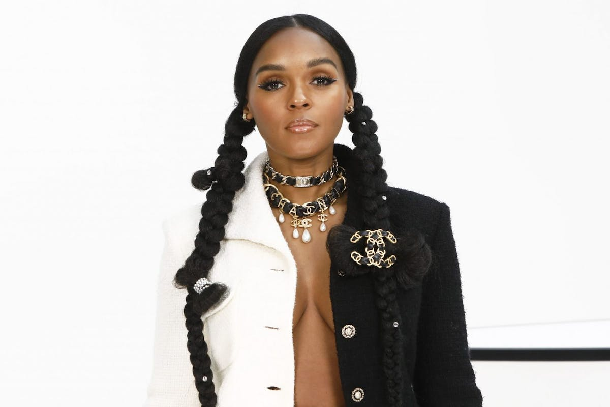 Janelle Monae attends the Chanel show as part of the Paris Fashion Week Womenswear Fall/Winter 2020/2021 on March 03, 2020 in Paris, France. (Photo by Julien Hekimian/Getty Images)