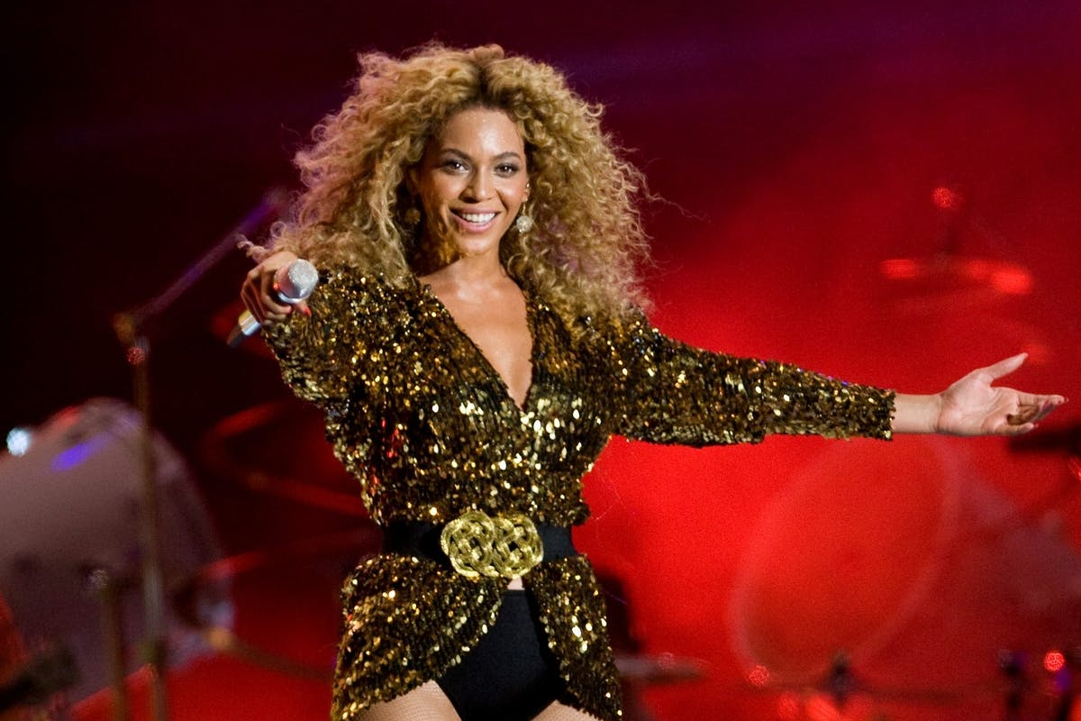 Beyoncé , one of the stars of Dreamgirls on Amazon Prime