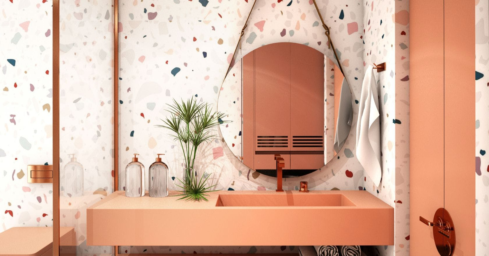 8 pink terrazzo accessories to give your home a rose-tinted makeover