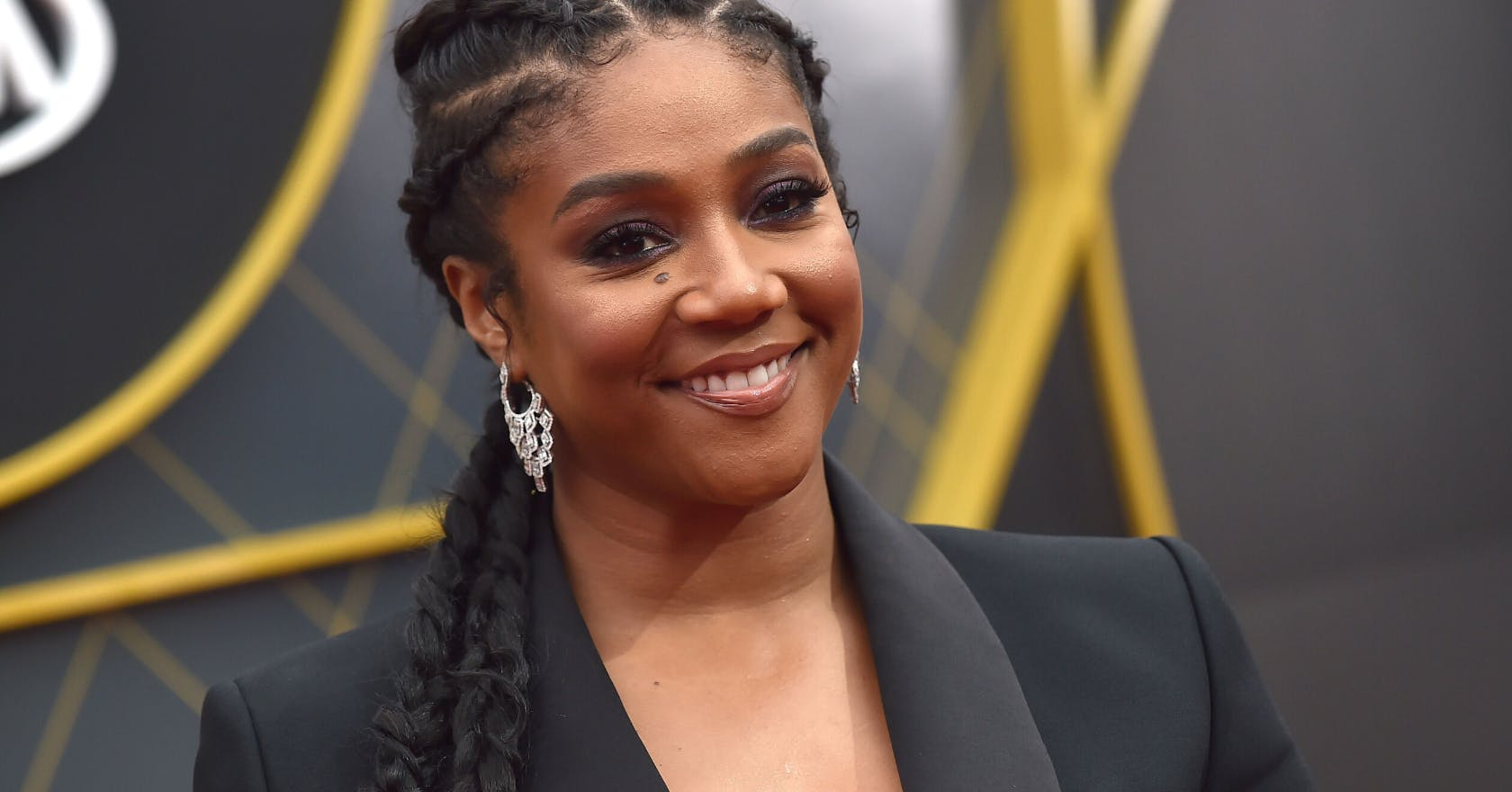 Tiffany Haddish shaved her head on Instagram Live, and shared an empowering message