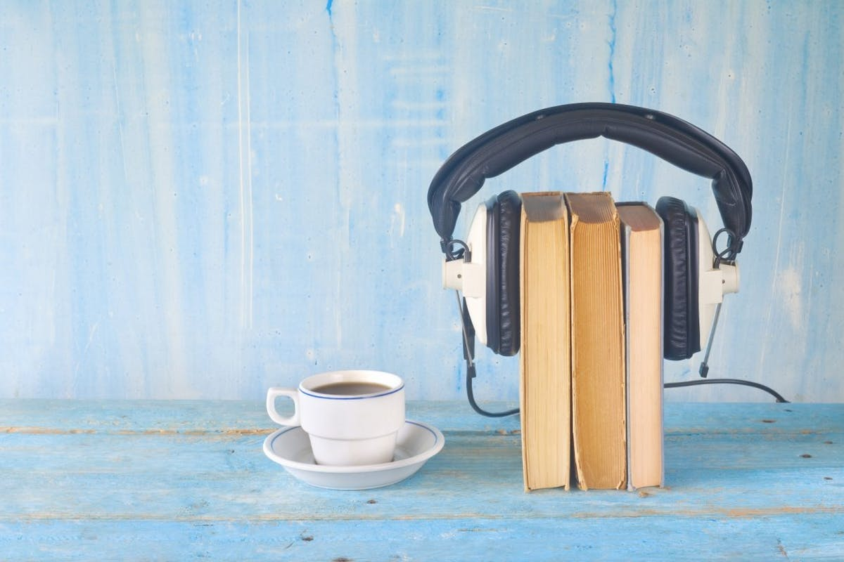 Book podcasts.