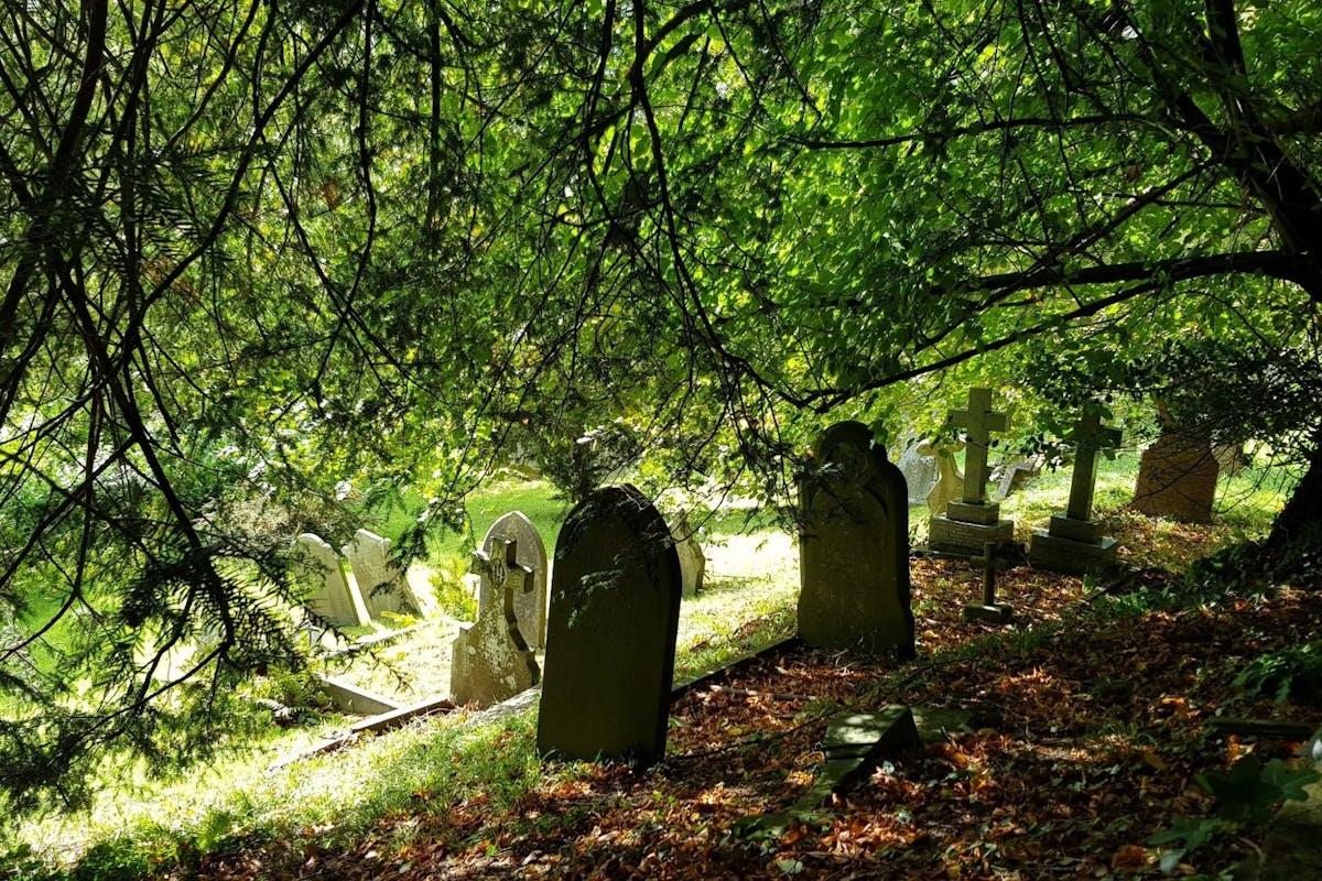 Family graveyard at Dyrham Park, Chippenham, England