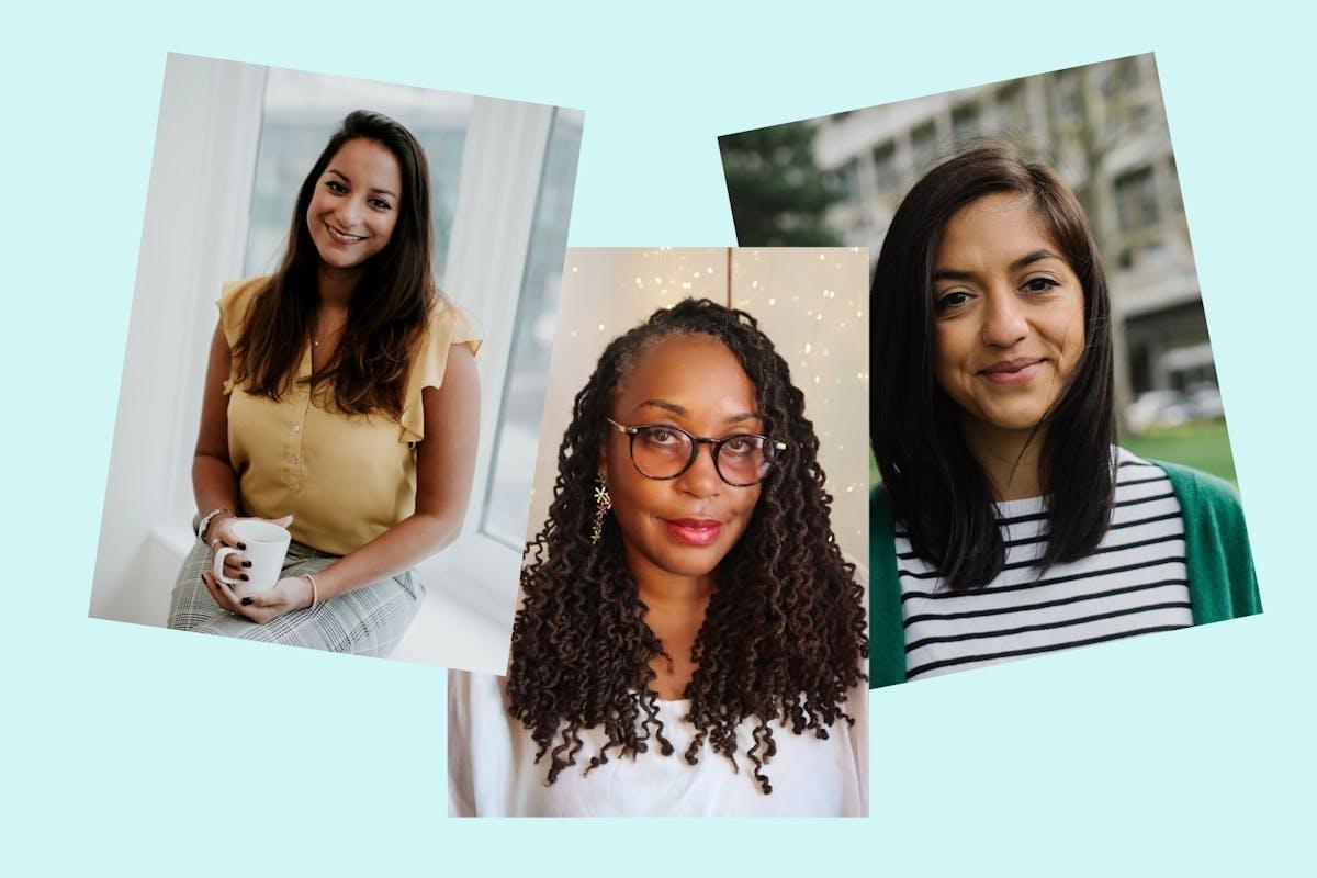 Charlotte Armitage, Disree Shaw, Amina Ispahani
