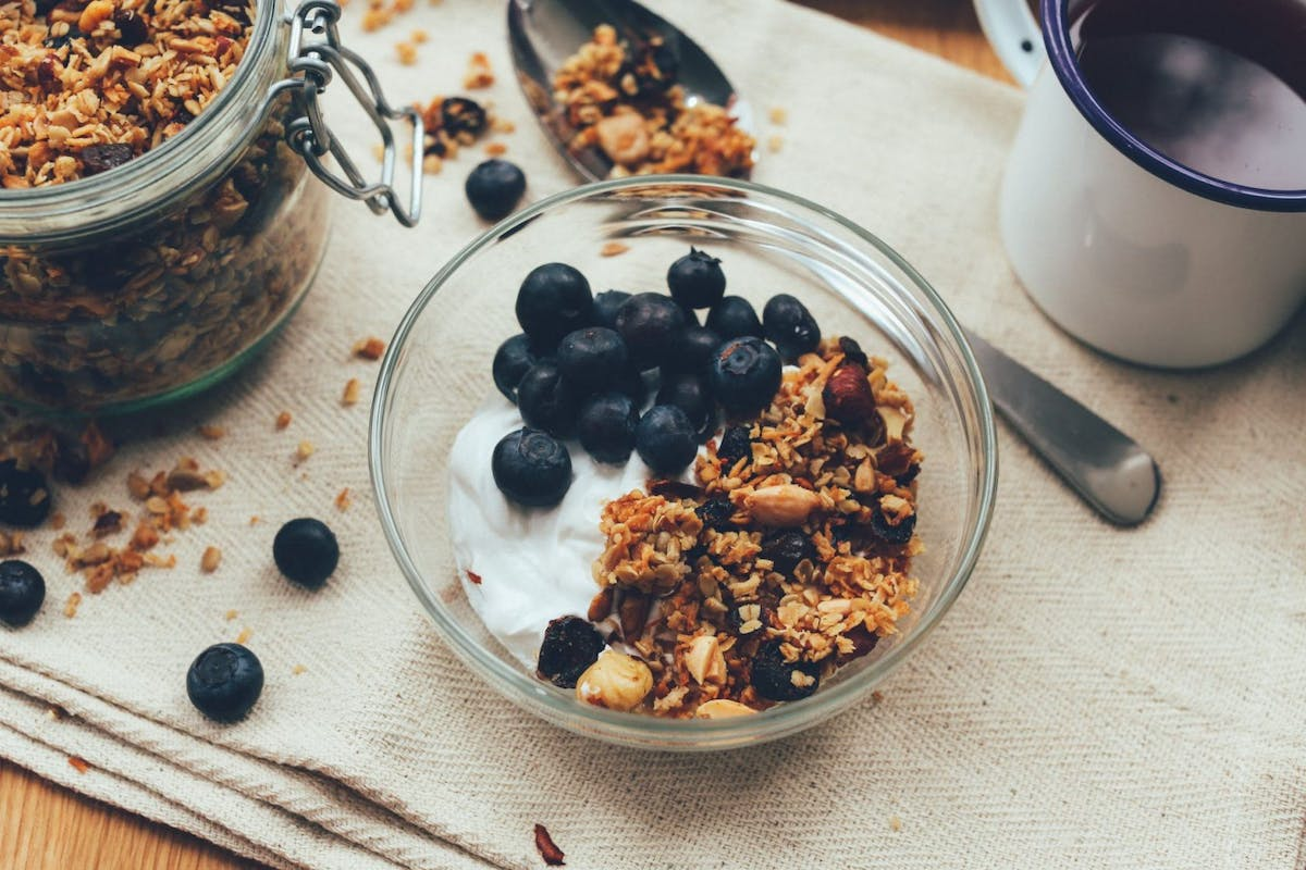 High protein probiotic yoghurts the ultimate pre-gym snack