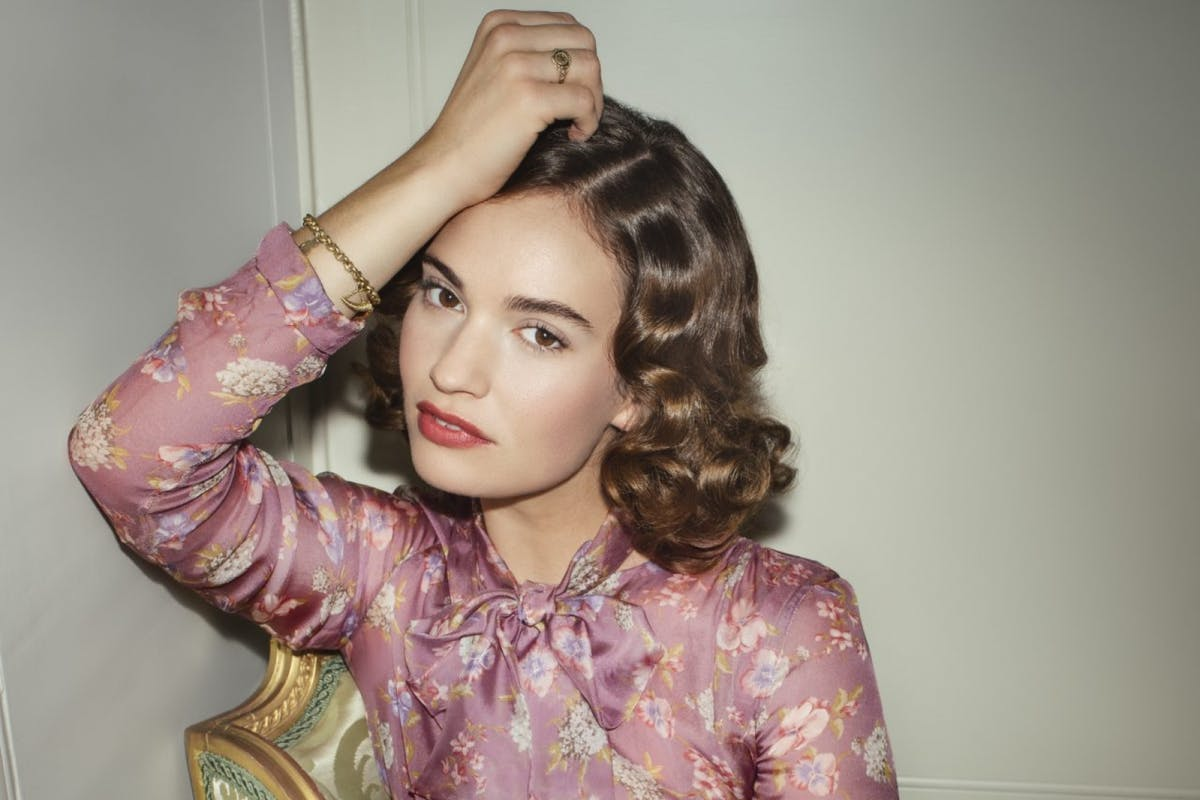 The Pursuit of Love: Lily James.