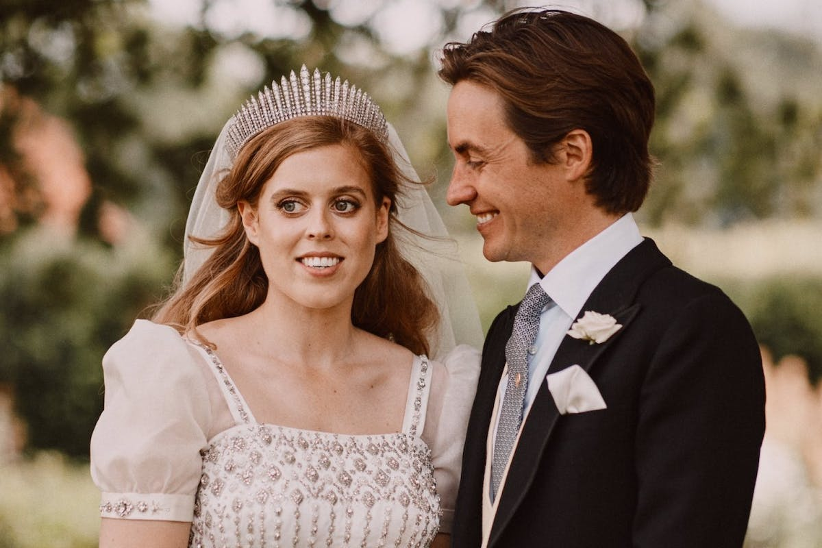 Princess Beatrice Wore A Recycled Wedding Dress From The Queen