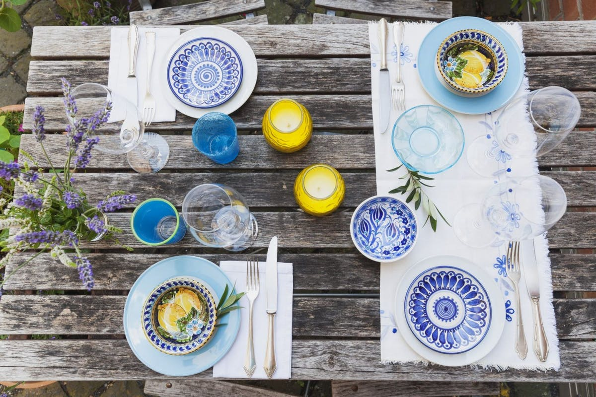 Table laid