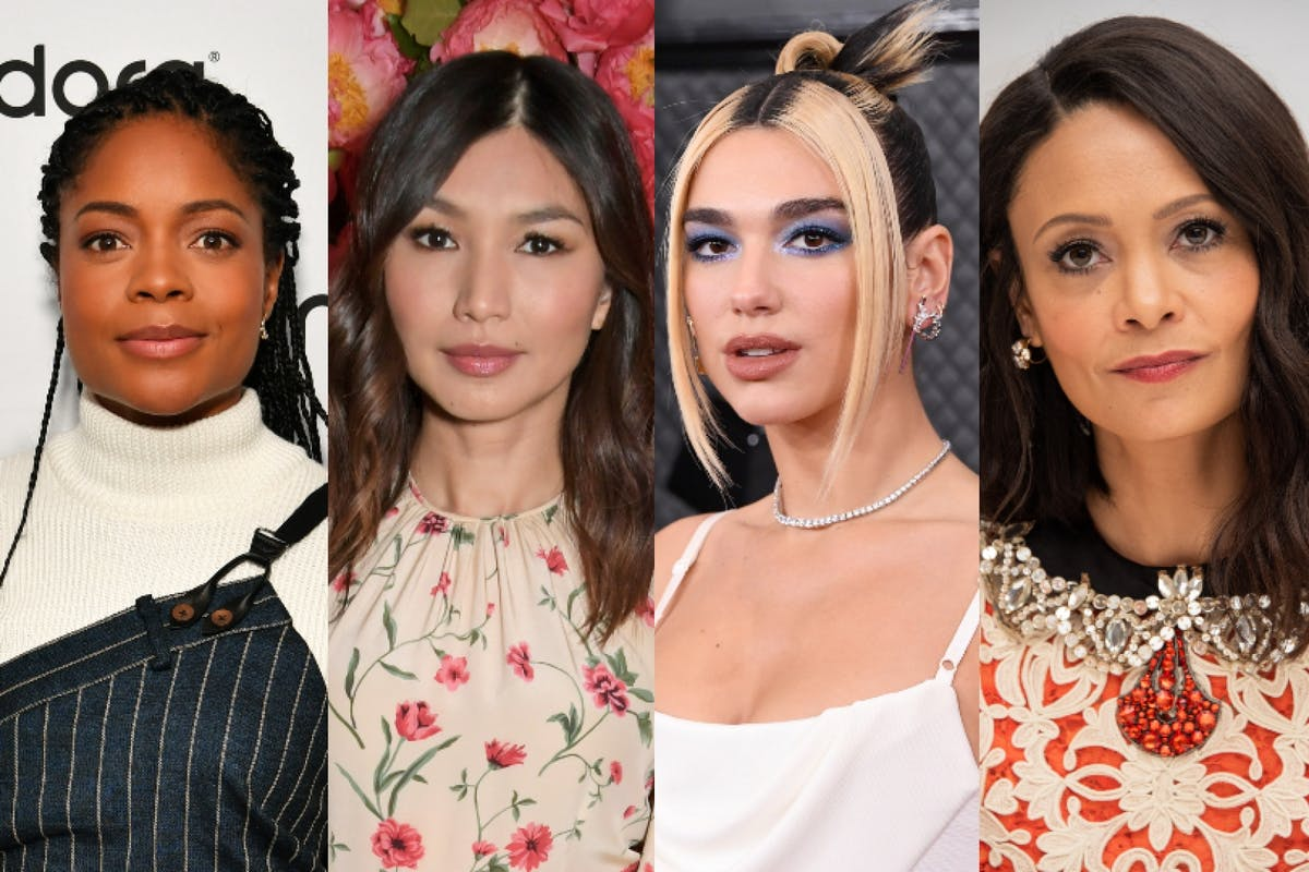 Celebrities calling for migrant women to be protected in domestic abuse bill: Naomie Harris, Gemma Chan, Dua Lipa, Thandie Newton