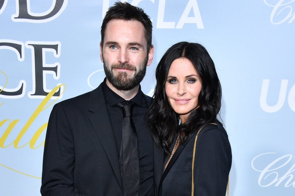 Courteney Cox boyfriend in lockdown.