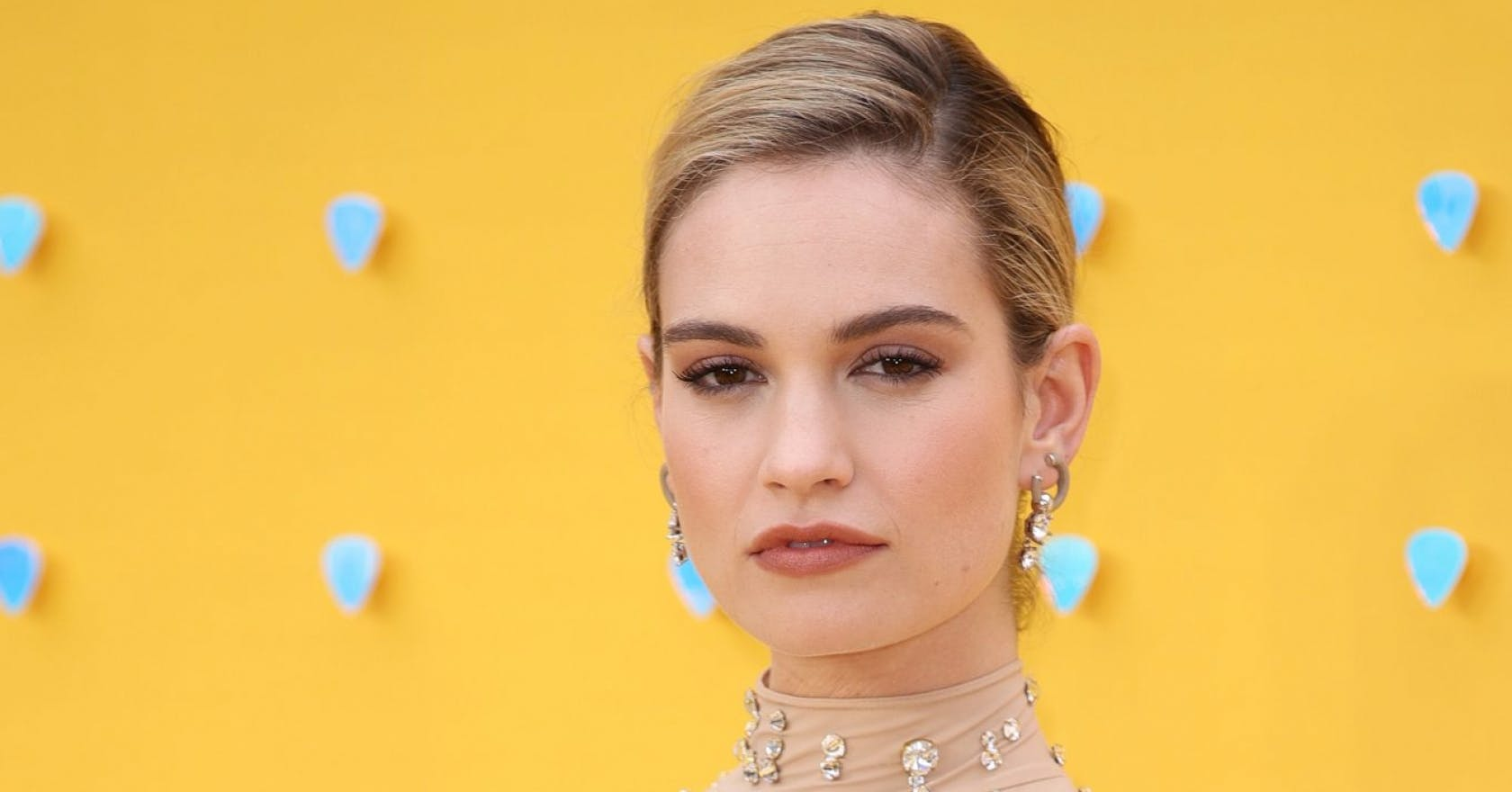 Lily James' vintage bob is our autumn beauty inspiration