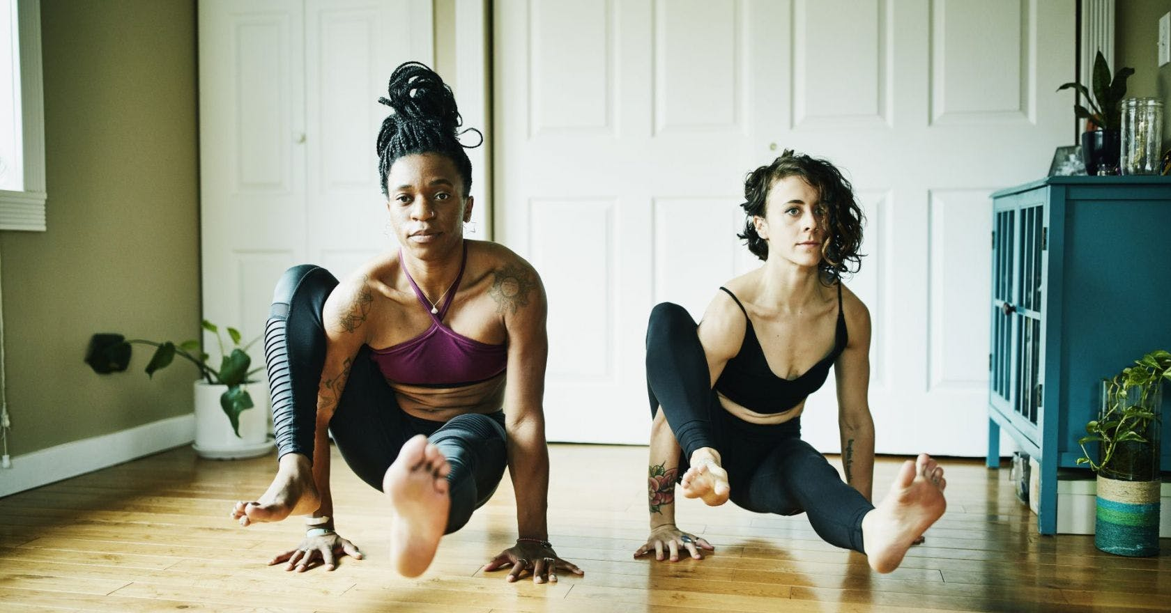 Yoga isn't just about stretching, it can make you stronger too