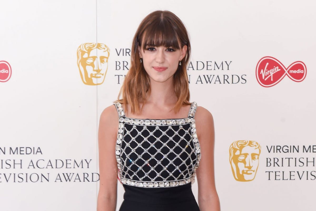 Daisy Edgar-Jones at the Baftas.