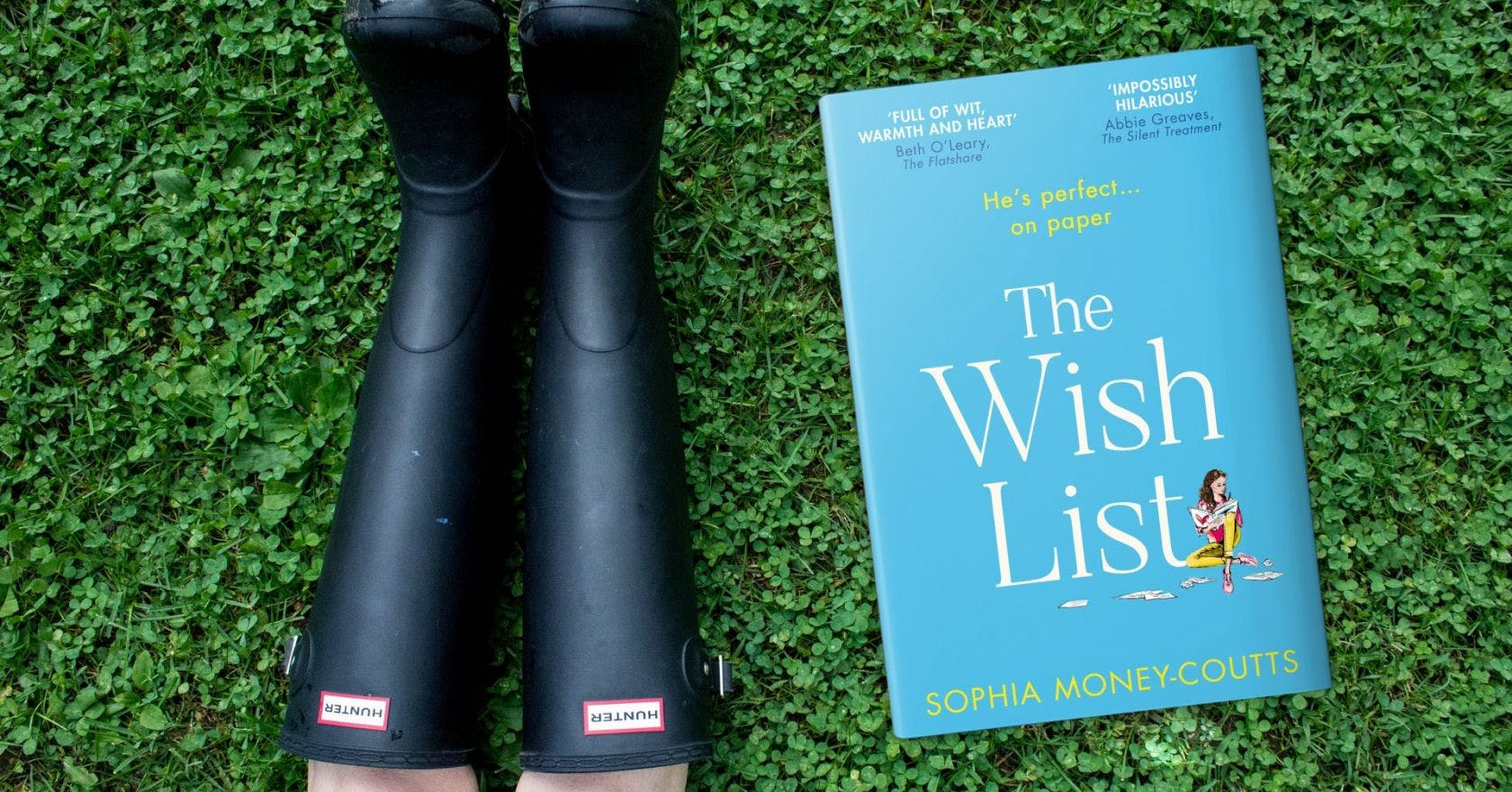 Win Hunter wellies plus a copy of The Wish List by Sophia Money-Coutts