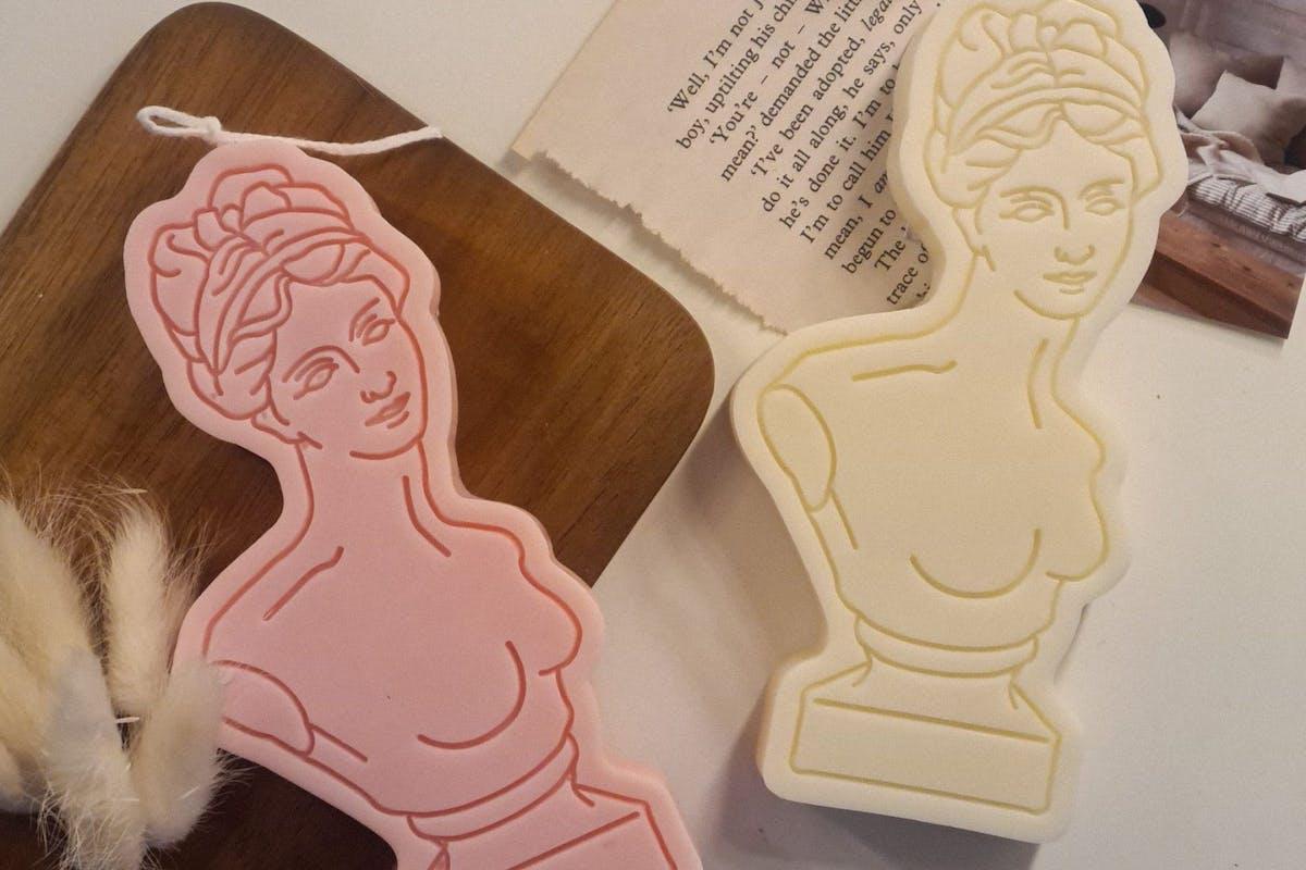 Pastel Palette women's head