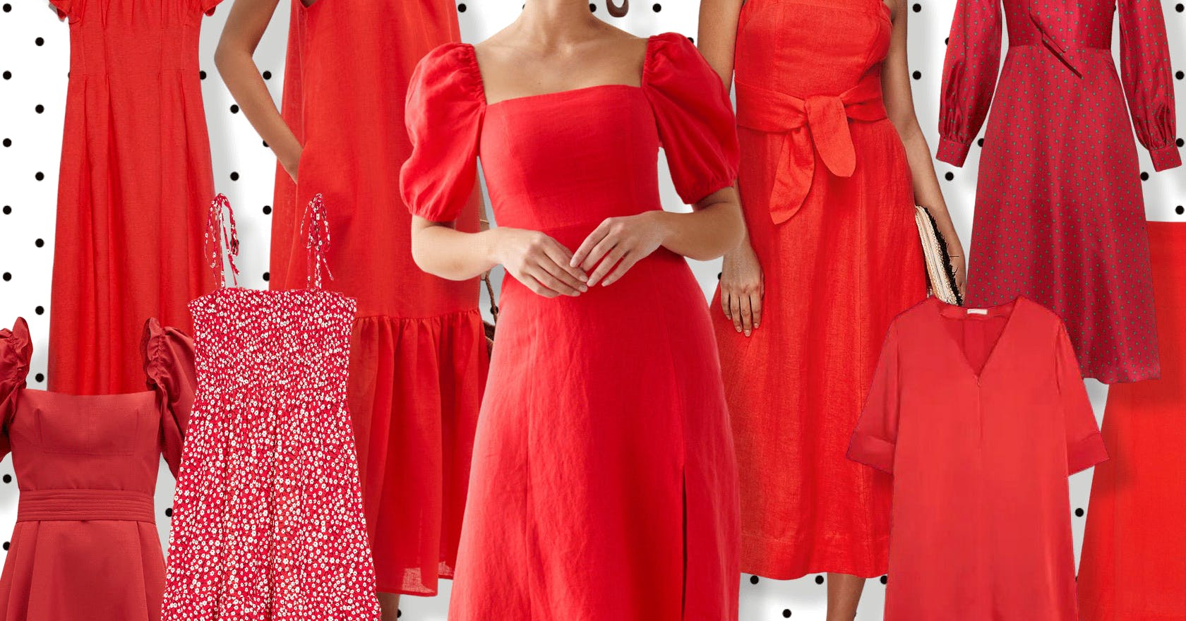 12 of the best red dresses to brighten up your summer wardrobe