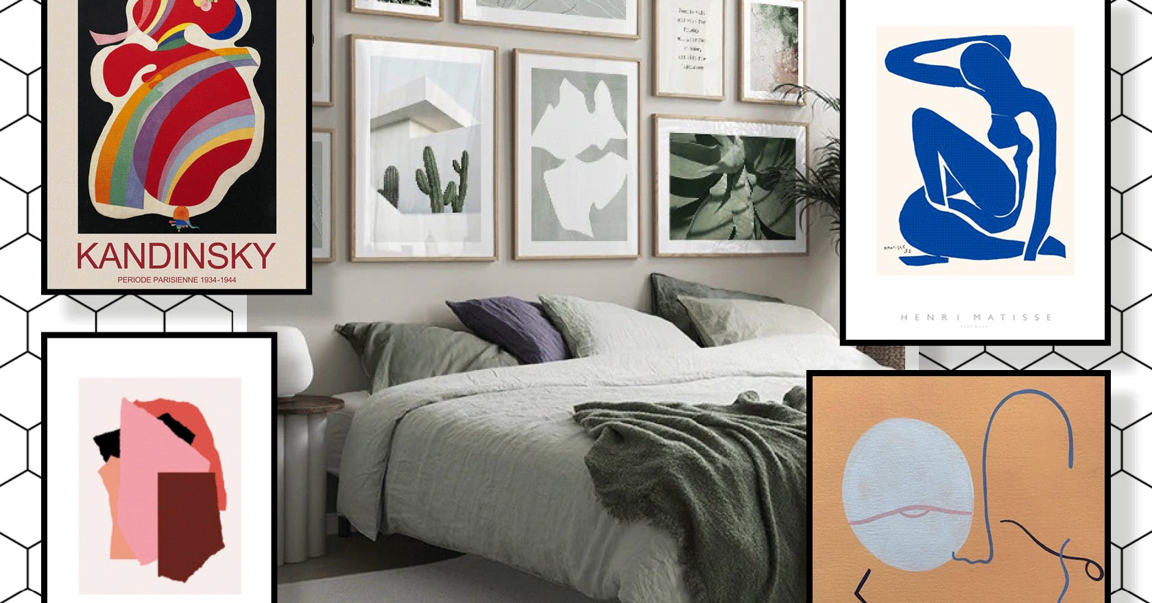 6 ways to create a picture wall, and the coolest art prints you need to do it