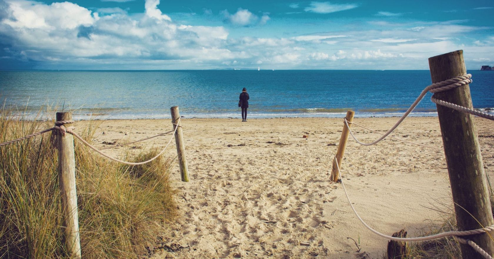 These beautiful beaches have the whitest sands in England