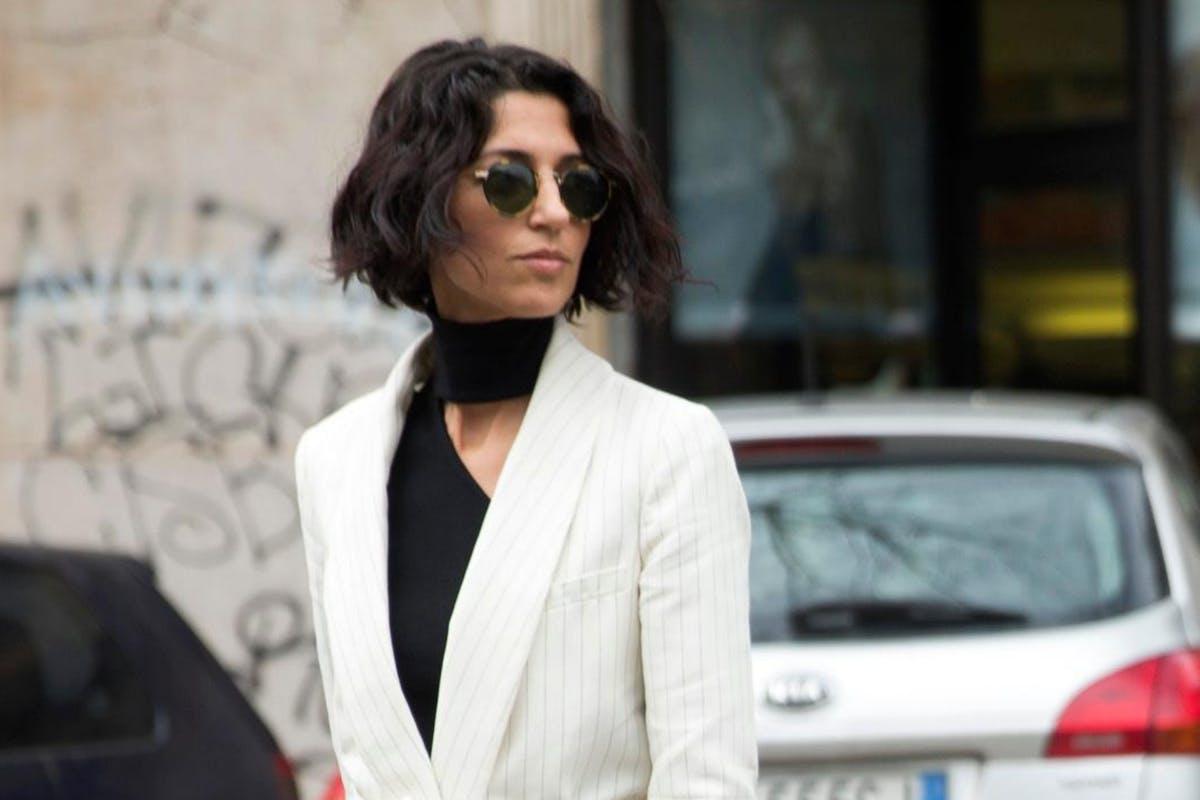Yasmin Sewell at Fashion Week