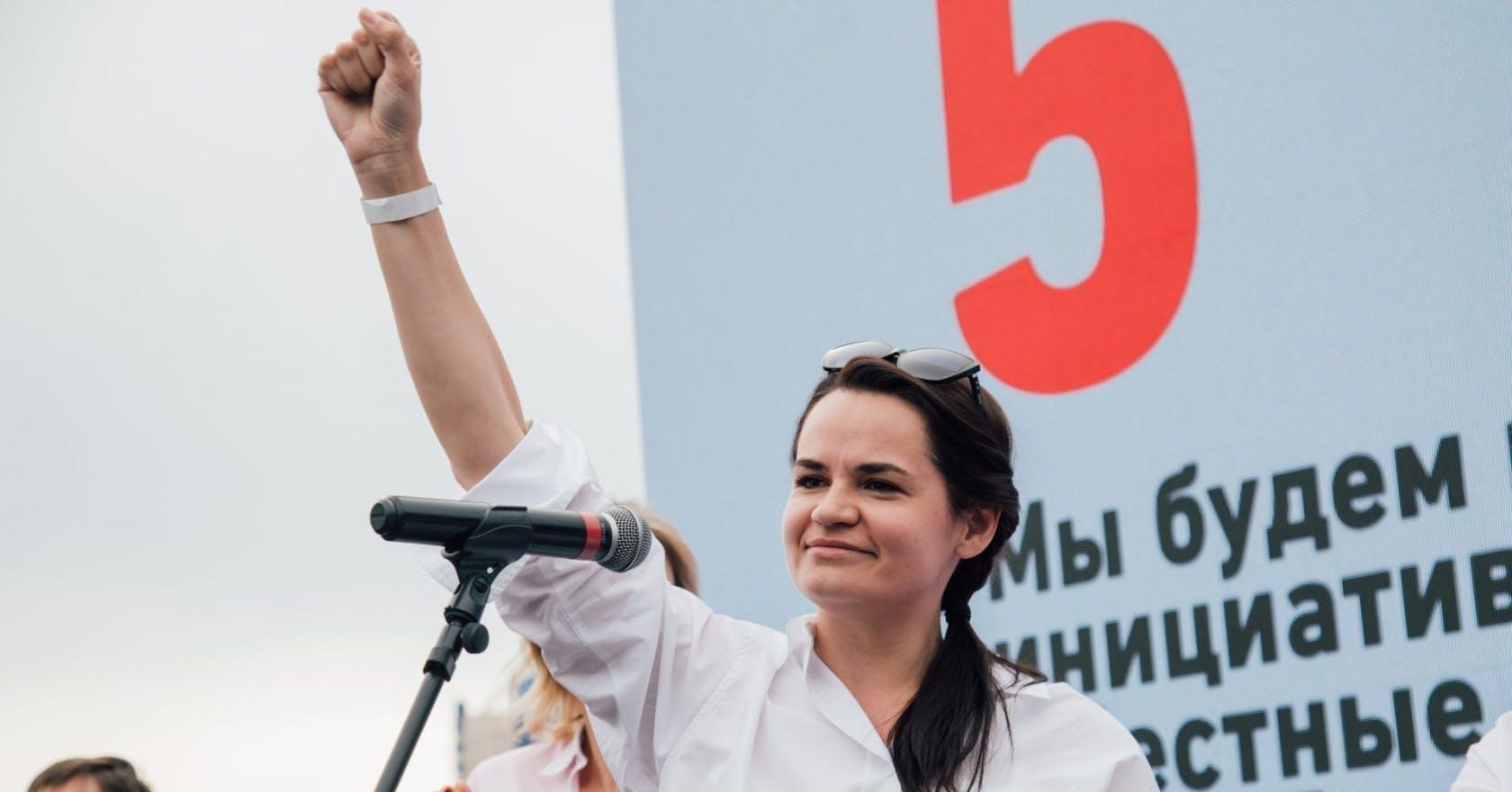 "Who is Svetlana Tikhanovskaya? Meet the woman taking on ""Europe's last dictator"" in Belarus"