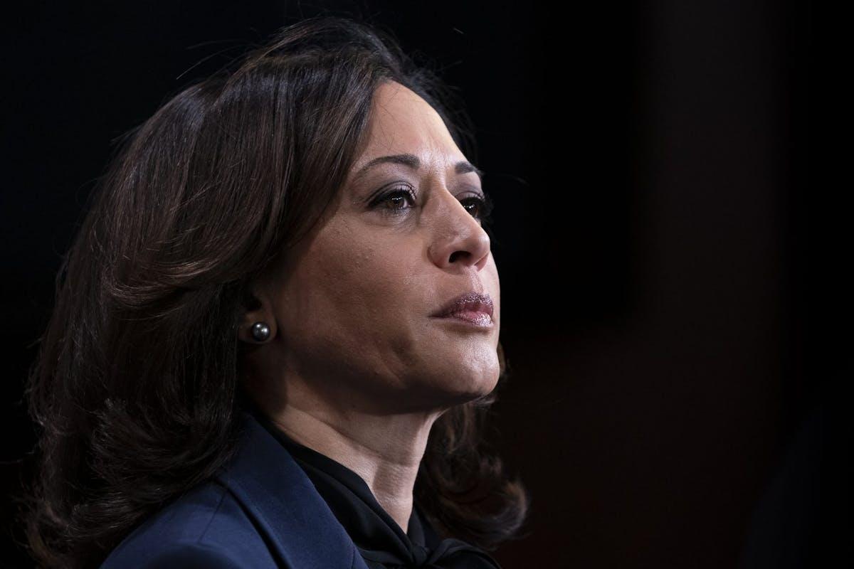 Kamala Harris vice president.