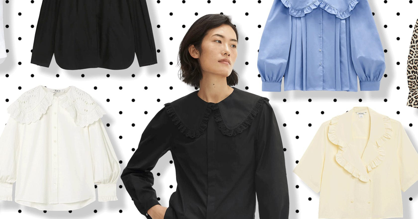 This must-have shirt is bringing big collar engery