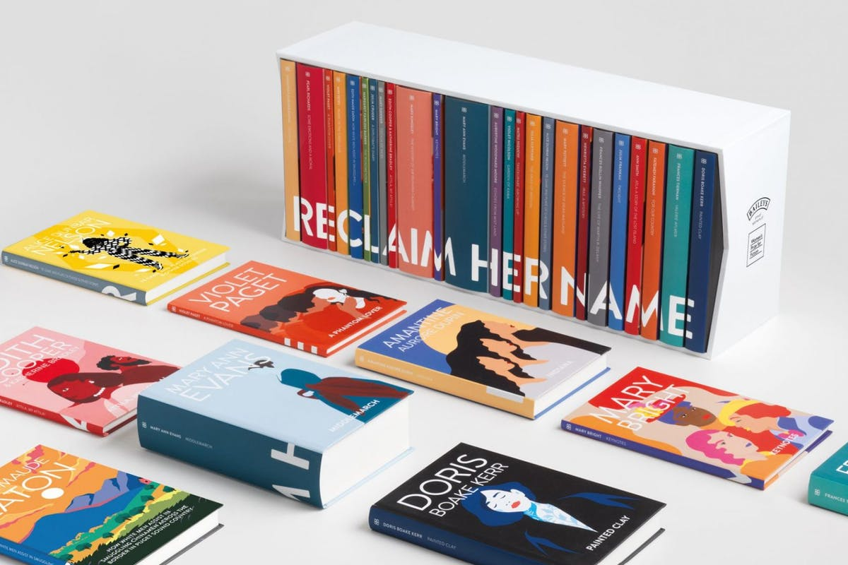 Women['s Prize: Reclaim Her Name.