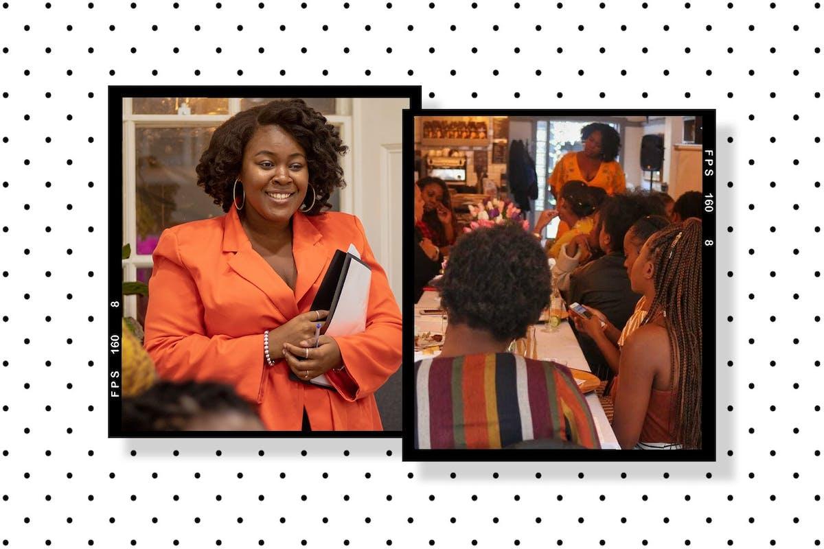 Black Girls Brunch: Cairo at the last Black Girls Brunch event in December 2019.