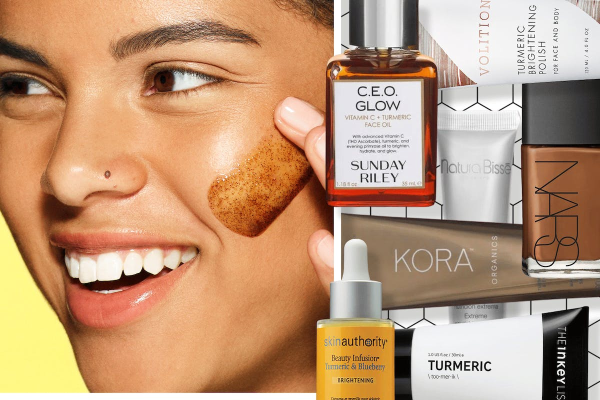 turmeric-beauty-products-skincare-foundation-concealer-cleanser