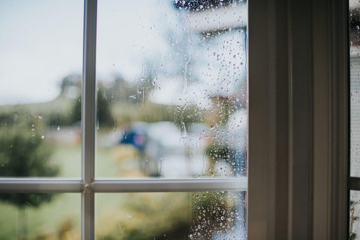A rainy window