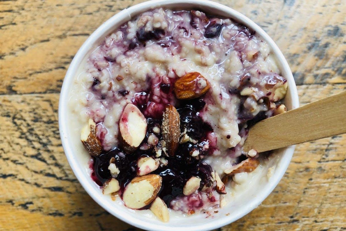Post workout porridge