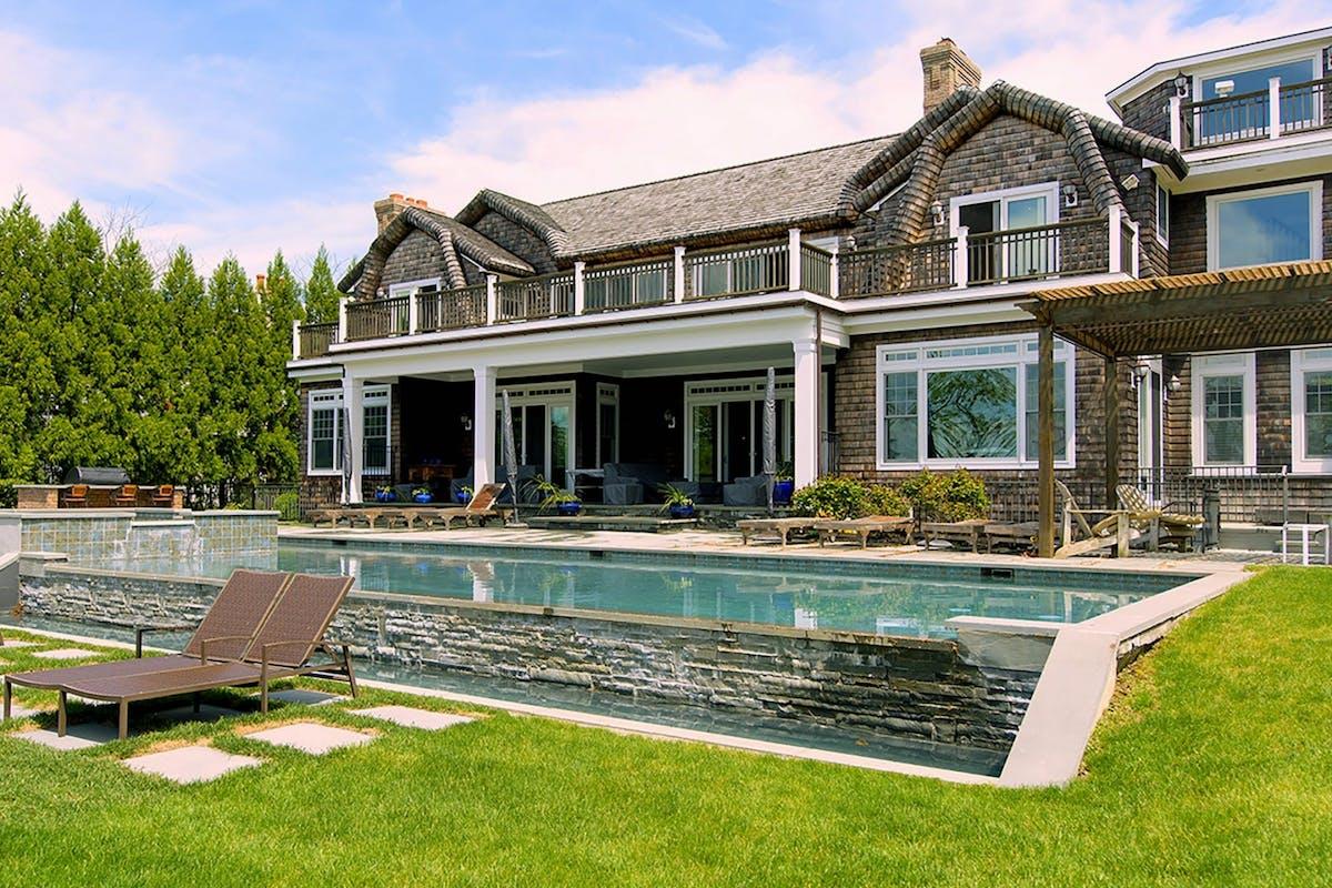 A beach house in The Hamptons from Million Dollar Beach House