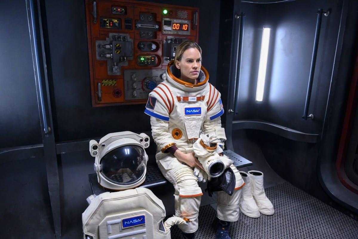 Away on Netflix: stills from Hilary Swank's new sci-fi drama