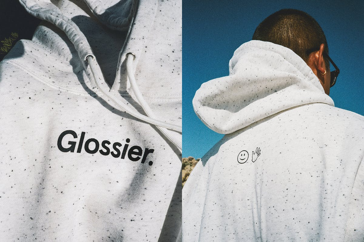 glossier-glossiwear-terrazzo-hoodie-buy-now-review