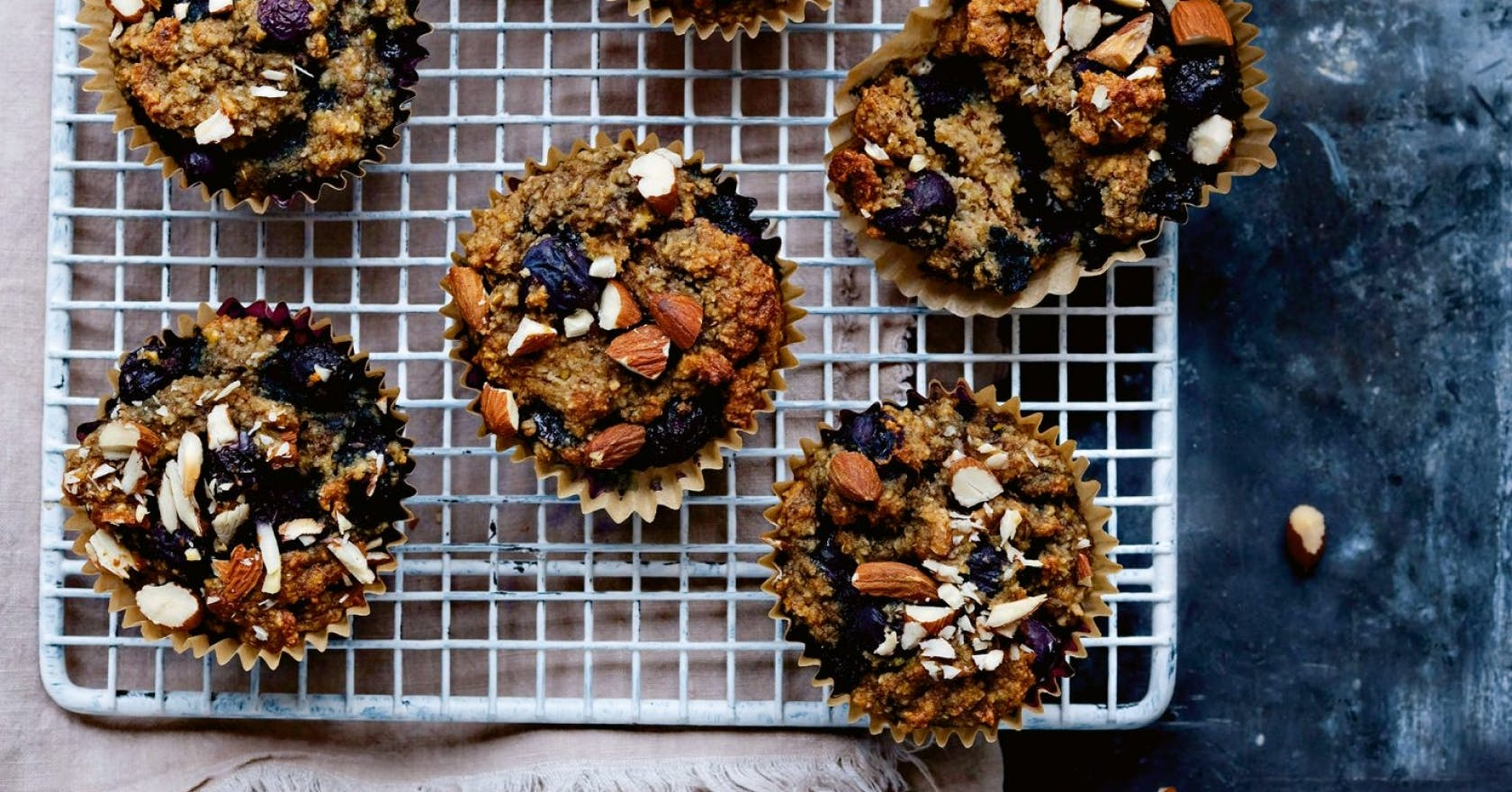 These fibre-filled banana muffins benefit more than your gut