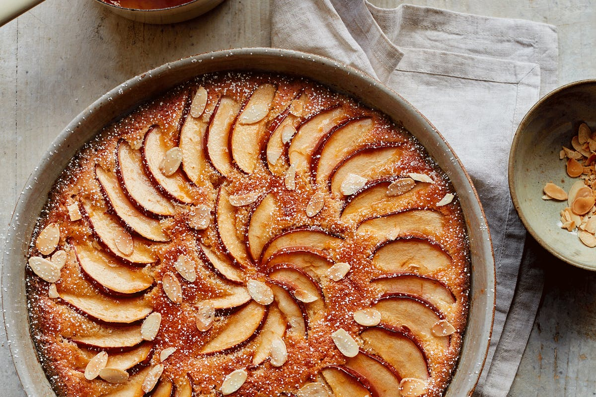 brioche frangipane apple pudding recipe by mary berry