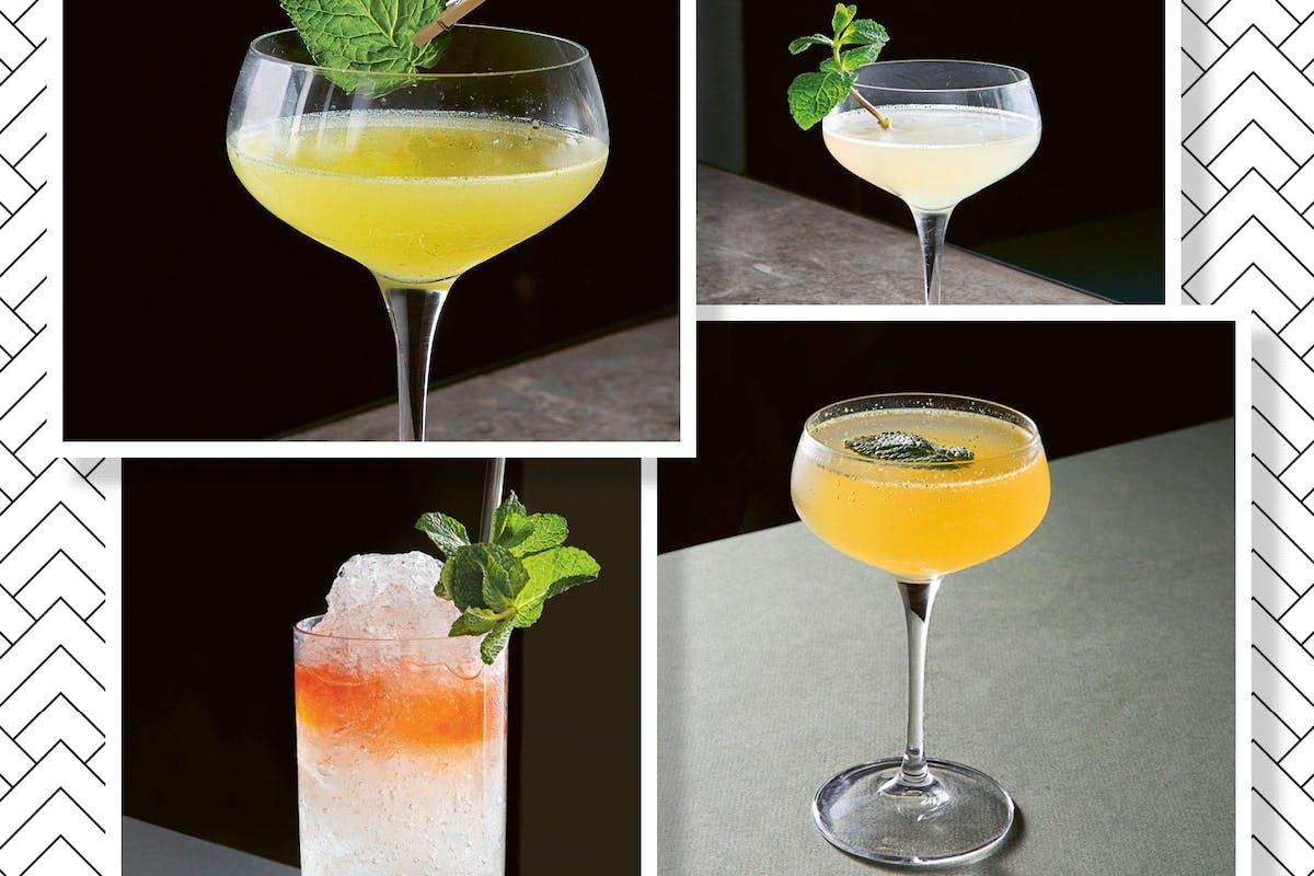 cocktails like mojitos
