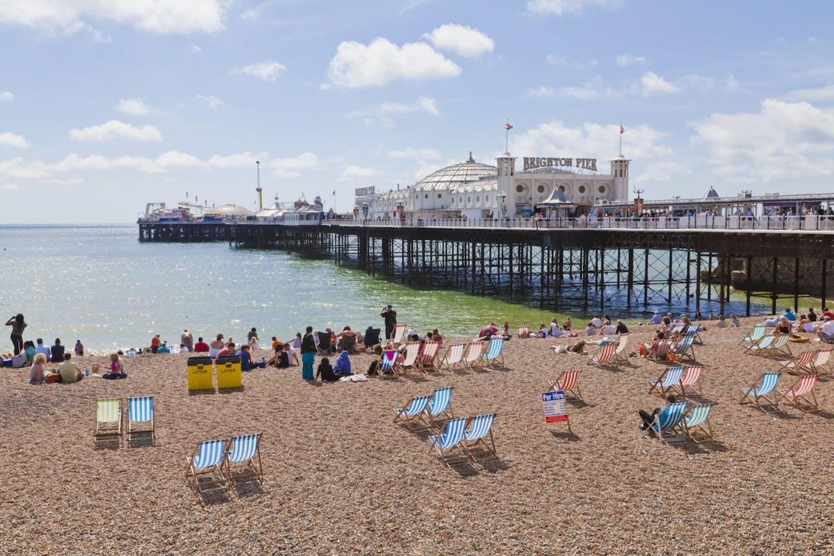 Brighton seaside pier