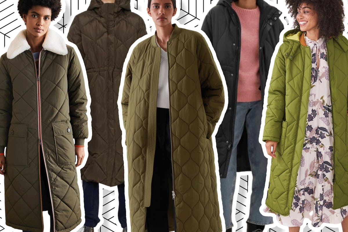 Best longline quilted jackets