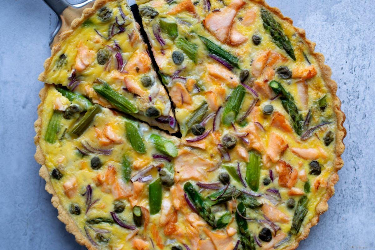 breakfast-recipe-quiche-omega-3-salmon-asparagus-capers-eggs-brunch