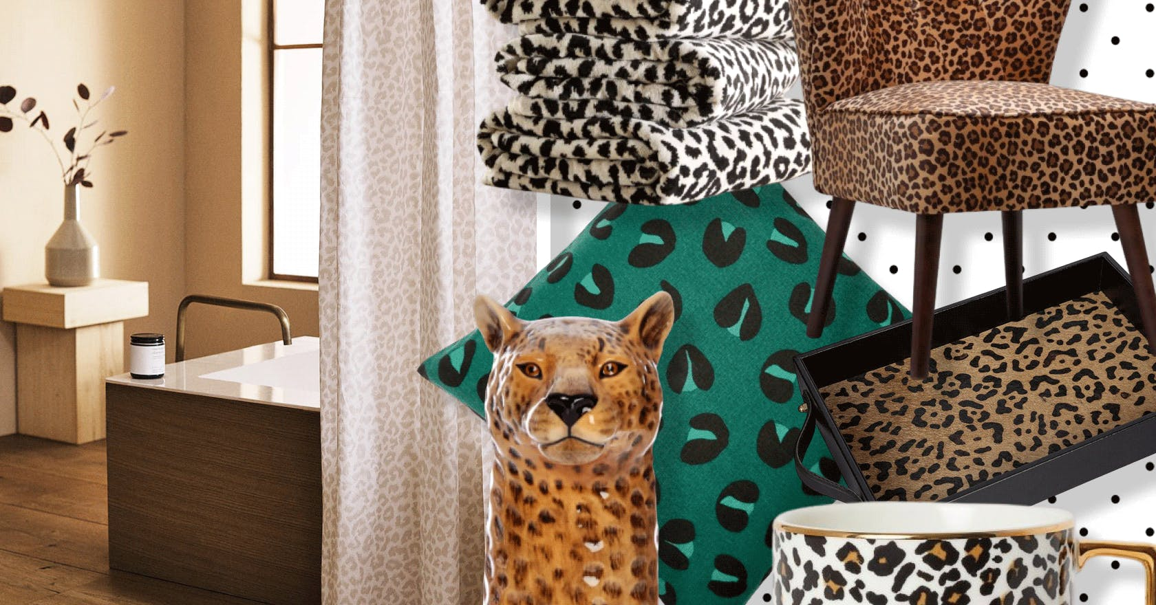 11 leopard print homeware pieces to make this season's trend yours