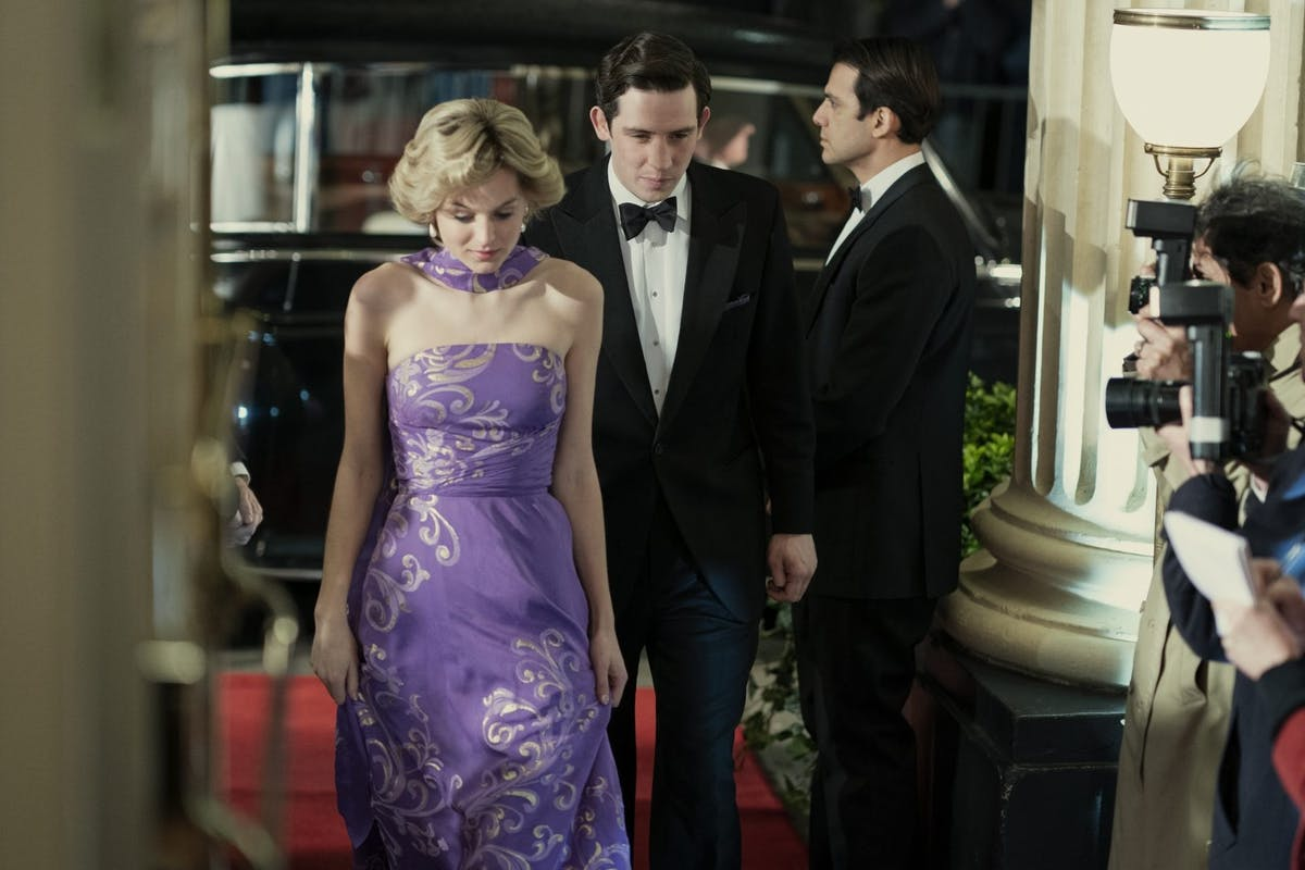 Netflix's The Crown season 4: Emma Corrin as Princess Diana and Josh O'Connor as Prince Charles.