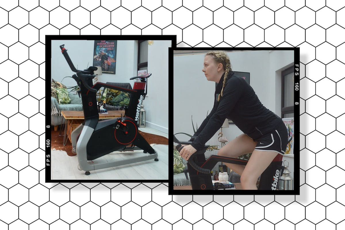 WattBike review a picture of the bike