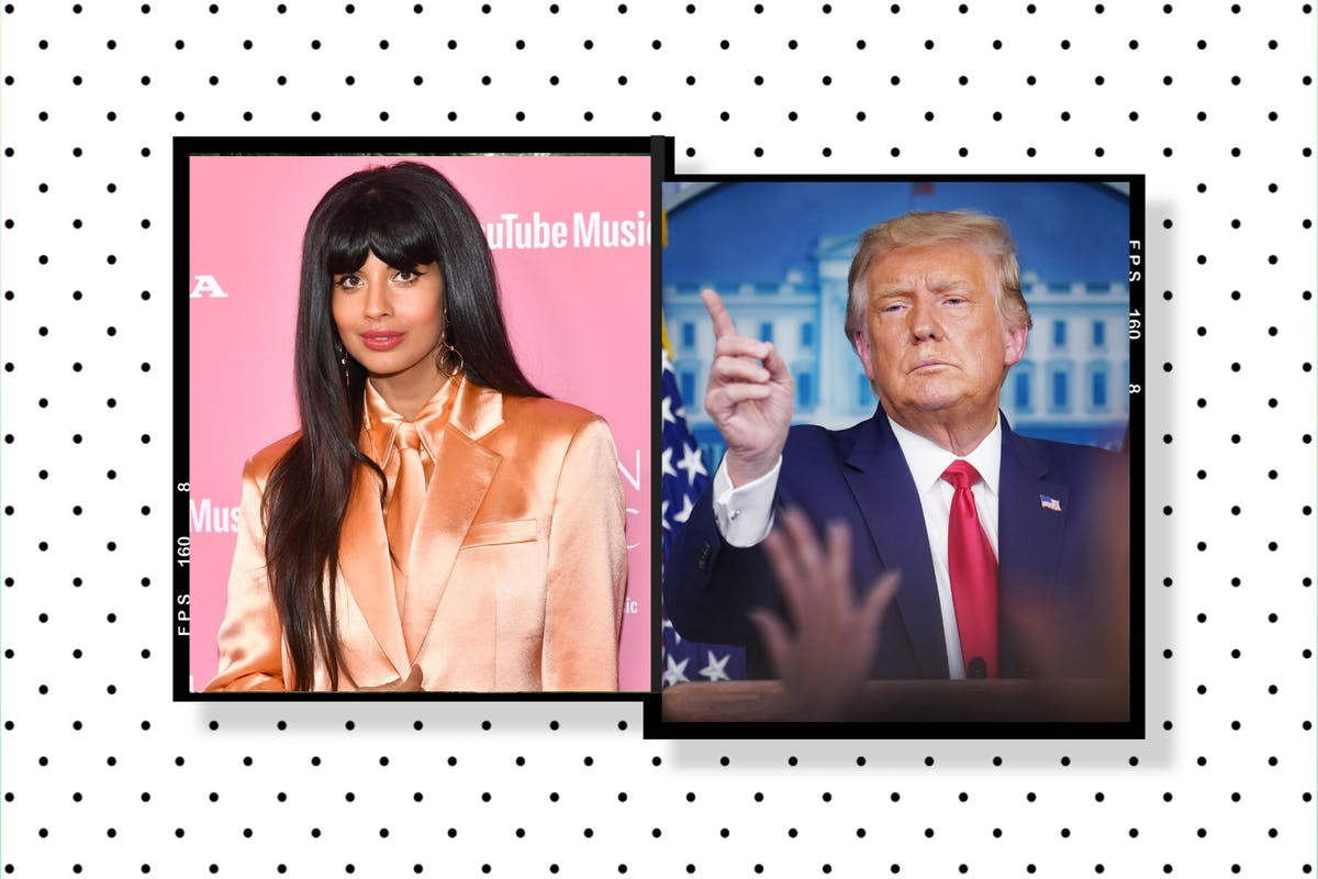 Donald Trump tests positive for Covid-19: Jameela Jamil's response says it all