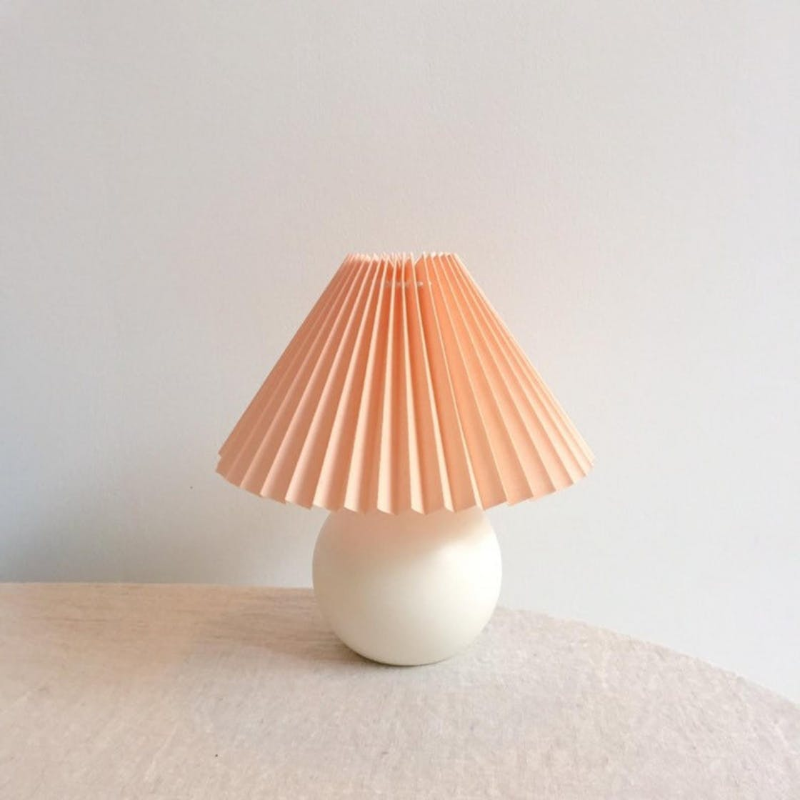 7 Pleated Lampshades To Give Your Home, Pleated Lamp Shades For Table Lamps Uk