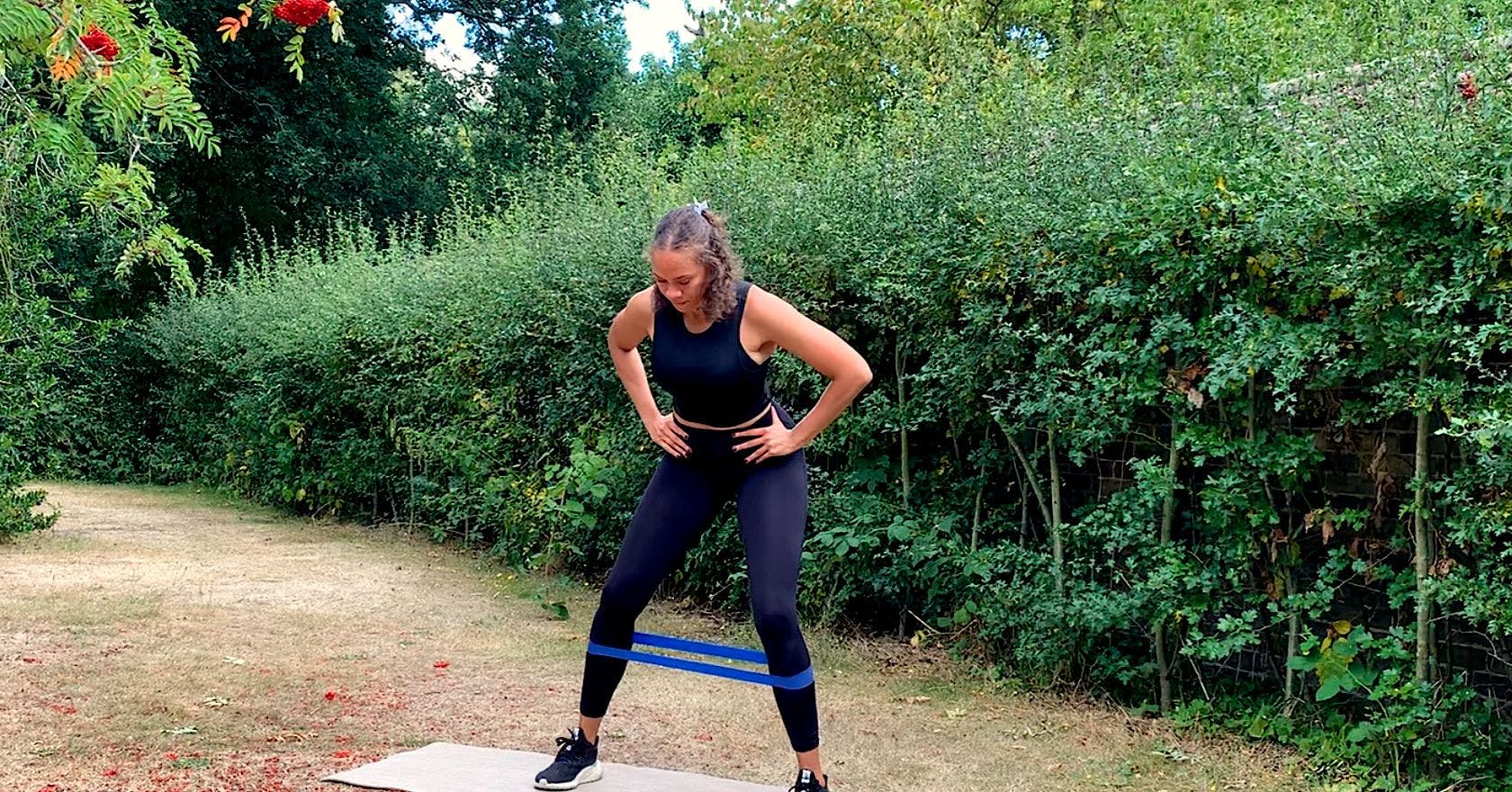 Ease hip pain with this glute strengthening circuit