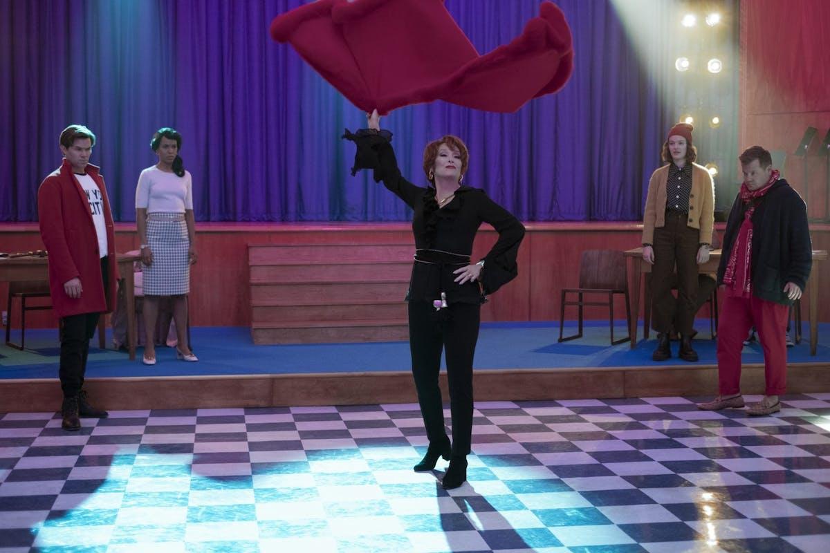 Meryl Streep in The Prom on Netflix