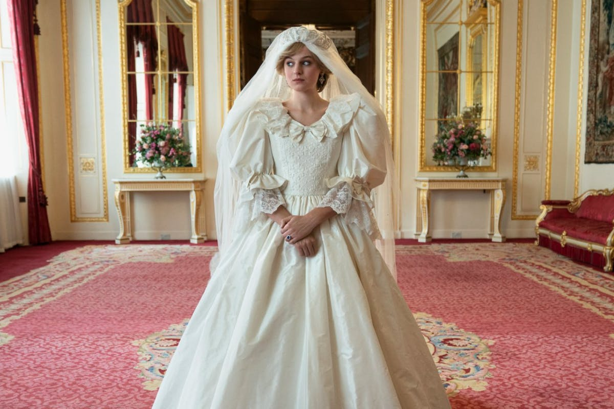 How Princess Diana S Wedding Dress Was Recreated For The Crown