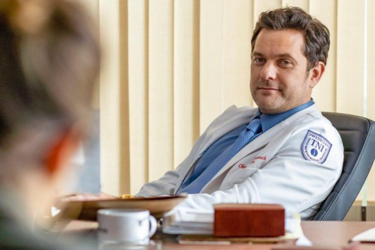 Joshua Jackson in Dr Death.